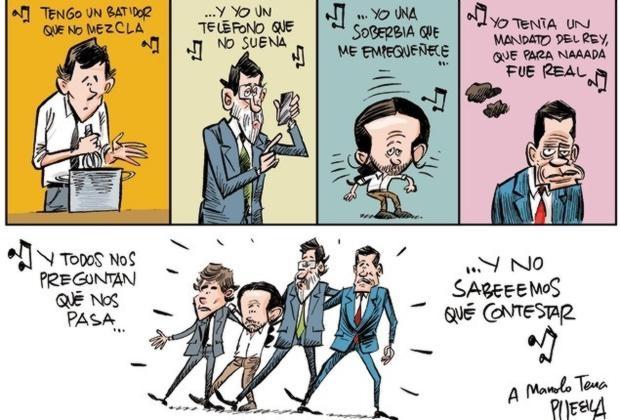 Viñeta de Puebla publicada por ABC el 5 de abril
