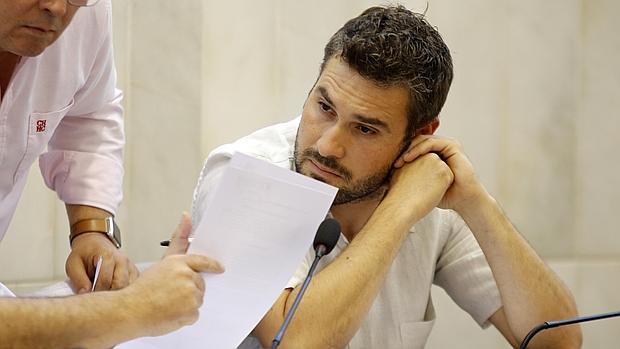 Gerard Fullana, portavoz de Compromís en la Diputación de Alicante