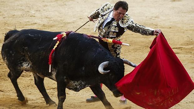 Imagen de la reaparición de El Soro en la plaza de toros de Xàtiva