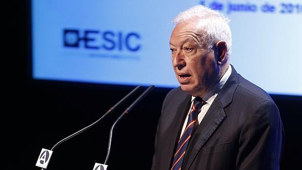 García-Margallo señala que los populismos son consecuencia de la «resaca» de la crisis económica