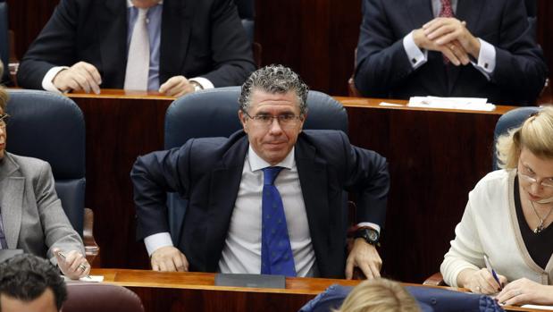 El exsecretario general del PP de Madrid, Francisco Granados