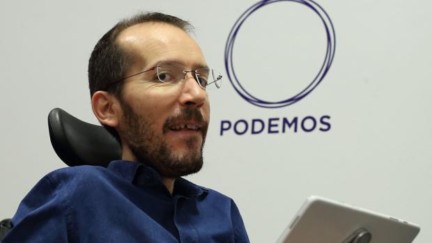 Pablo Echenique, número dos de Podemos y líder del partido en Aragón