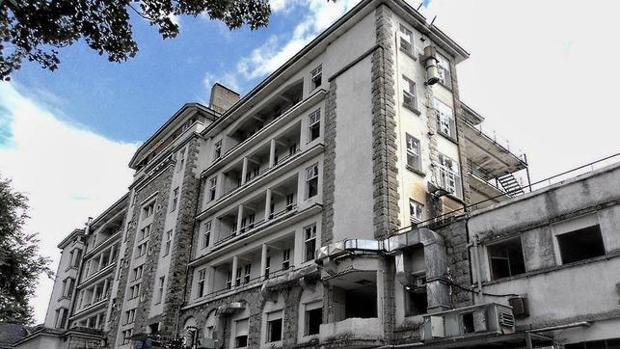 Sanatorio de Marina, en Los Molinos (Guadarrama)