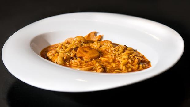Uno de los platos participantes en la II Ruta de la Paella y el Arroz