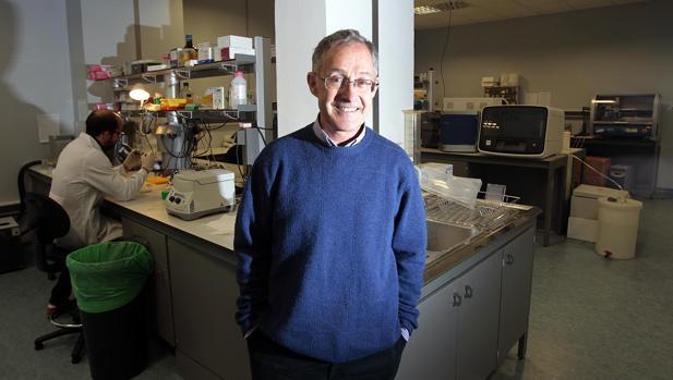 El doctor Carrecedo, genetista de prestigio internacional