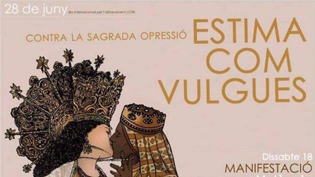 Imagen del cartel de la controversia