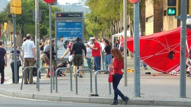 Hemeroteca: Dos detenidos por las agresiones a fans de la selección en Barcelona | Autor del artículo: Finanzas.com