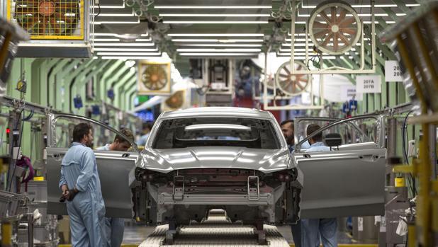 Imagen de la planta de Ford en Almussafes