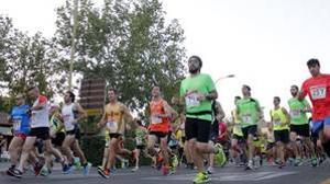 Participantes en la carrera Toledo-Polígono
