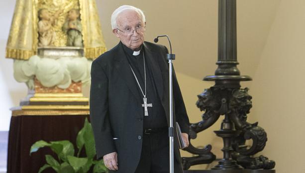 Imagen del cardenal Cañizares tomada este miércoles