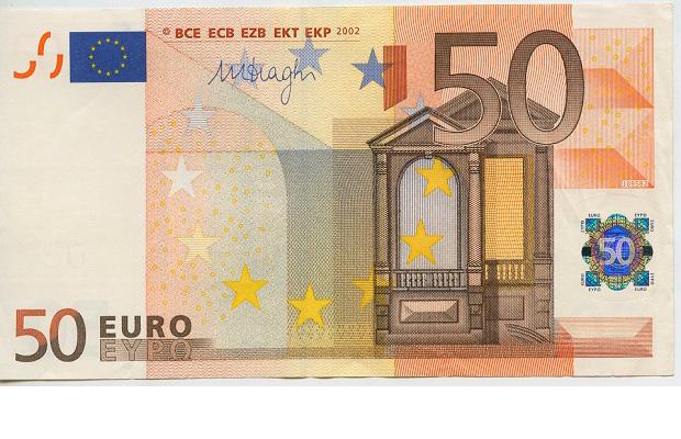 Foto de un billete de 50 euros