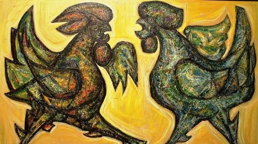 «Pelea de gallos»