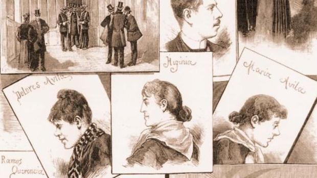 Las tres sospechosas de la muerte de Luciana Borgino en el conocido como crimen de Fuencarral