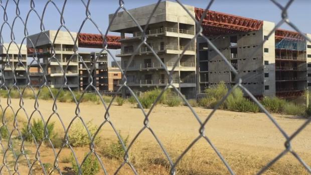 Estado actual de las obras del nuevo hospital