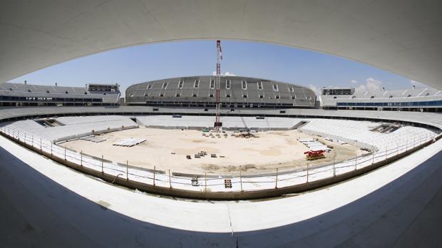 El Atletico De Madrid A Un Ano De Su Mudanza La Peineta Se Prepara