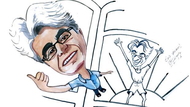 Paco Camarasa, en una ilustración homenaje póstumo.