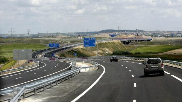 Autovía de la Sagra CM-41, a la altura del la salida de la A-42.