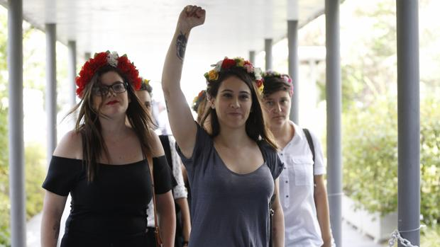 Cinco activistas de Femen