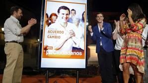 Rivera mantendrá ante el Rey su veto a Rajoy para la nueva etapa política