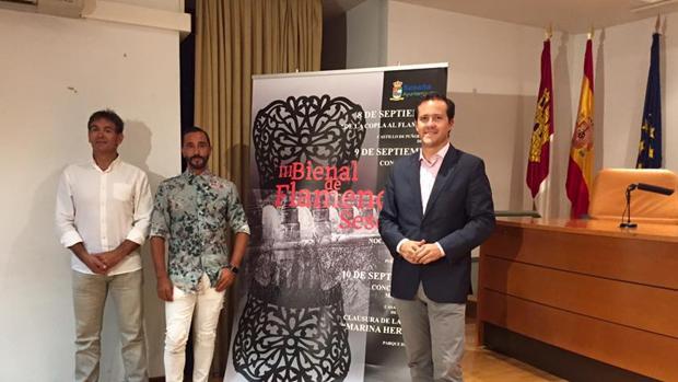 Presentación de la III Bienal de Flamenco de Seseña en la Biblioteca de Castilla-La Mancha