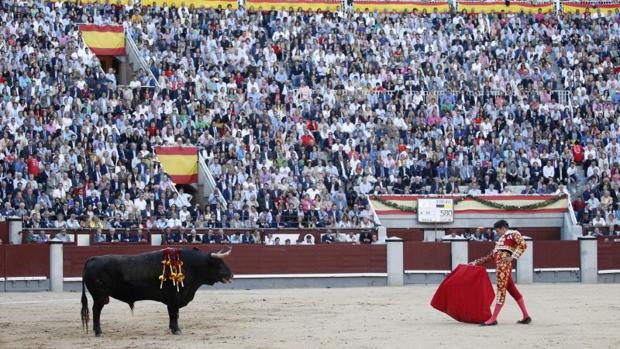 El torero Jose Maria Manzanares en Las Ventas