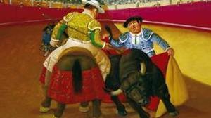 Un lienzo del famoso artista colombiano Fernando Botero ilustra este año la feria taurina de Albacete
