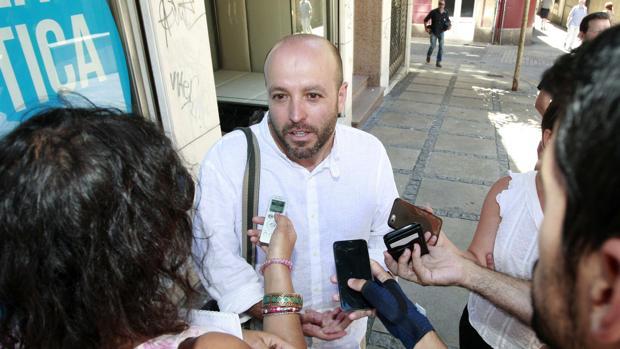 El juez Luis Villares, candidato de En Marea a las elecciones gallegas