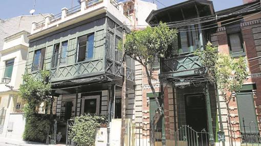 La lucha contra el olvido de los hotelitos del madrid for Calle castelar