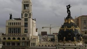La Victoria Alada del edificio Metrópoli y el Círculo de Bellas Artes