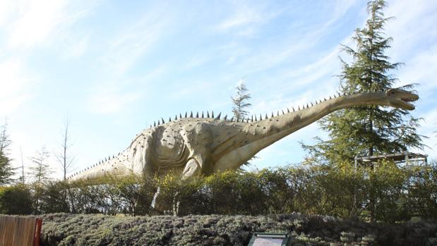 Imagen de archivo de la recreación de un dinosario