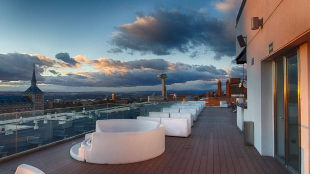 Una Vista Panorámica 360º De Madrid