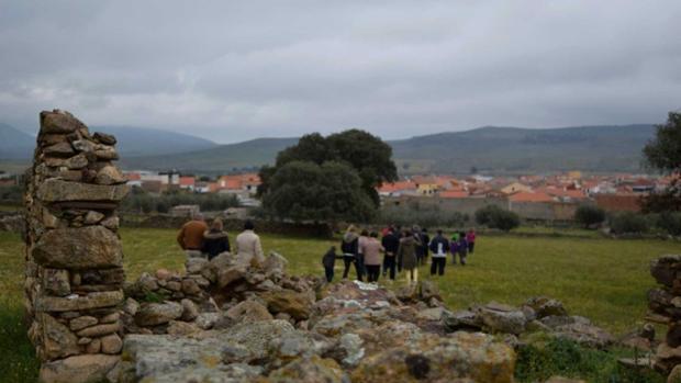 Ruta de senderismo en Aldeanueva de San Bartolomé