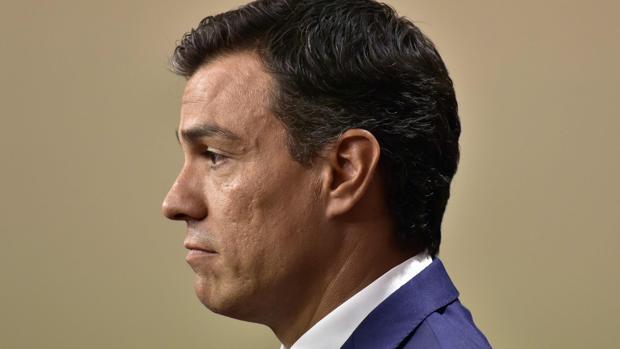 Pedro Sánchez, tras la reunión con Mariano Rajoy