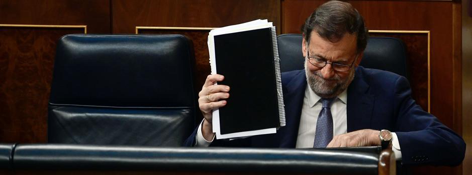 El Congreso rechaza investir a Rajoy en la primera votación
