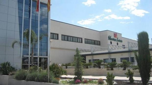 Imagen de la sede de la empresa en la localidad valenciana de Cheste