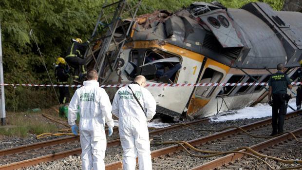 Resultado de imagen de descarrilar un tren en O Porriño