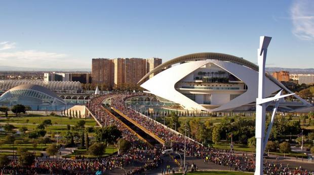 Edición pasada de la Maratón de Valencia