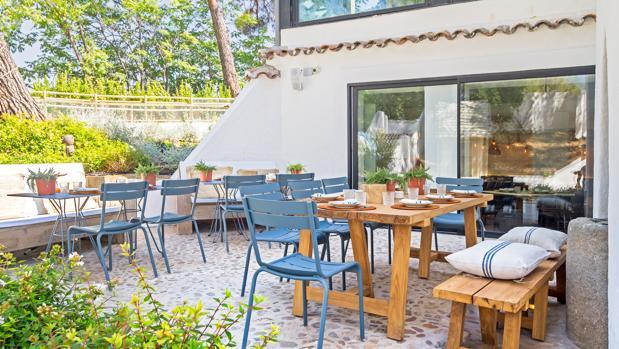 Un gran jard n convertido en restaurante en pozuelo for El jardin de la maquina pozuelo
