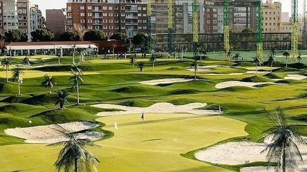 Campo de golf del Canal, en Chamberí