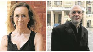 Carme Portaceli y Mateo Feijóo, directores del Español y Matadero