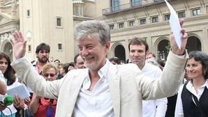 Pedro Santisteve, alcalde de Zaragoza por la coalición ZEC y excandidato al Congreso de Unidos Podemos