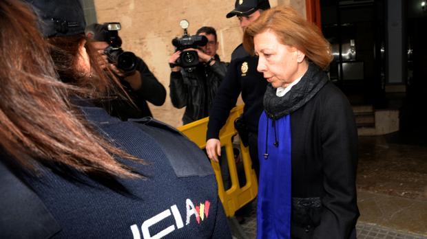Hemeroteca: María Antonia Munar: «Estoy muerta política, económica y socialmente»   Autor del artículo: Finanzas.com