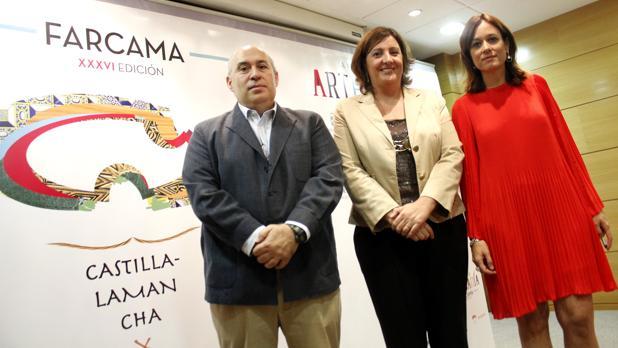 Roberto Perea, Patricia Franco y Isabel Fernández Samper