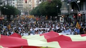 Compromís y PSPV saldrán a la calle con partidos separatistas para reclamar «la construcción de un país»