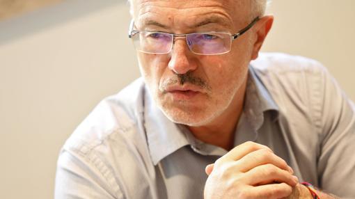 El líder de Podemos en la Comunidad Valenciana, Antonio Montiel
