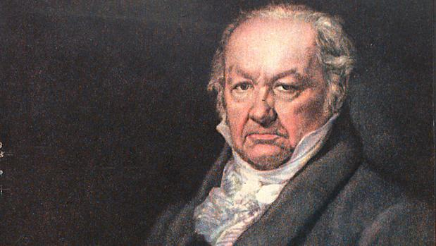 Retrato de Francisco de Goya