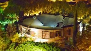 Se derrumba la cúpula y el techo de una iglesia de Talavera sin causar daños