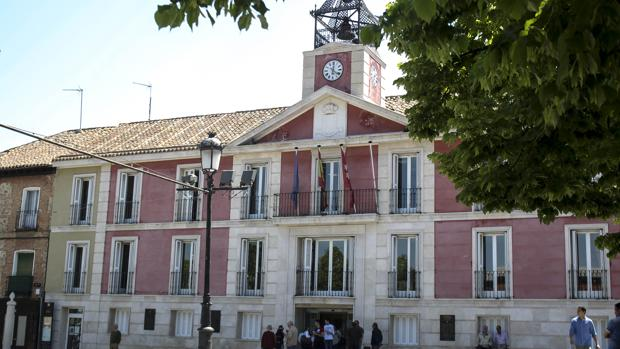 Fachada del Ayntamiendo del Aranjuez