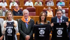 Las Cortes de Castilla y León acogió el acto central del Día de la Salud Mental