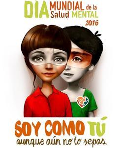 Ilustración realizada con motivo del Día de la Salud Mental
